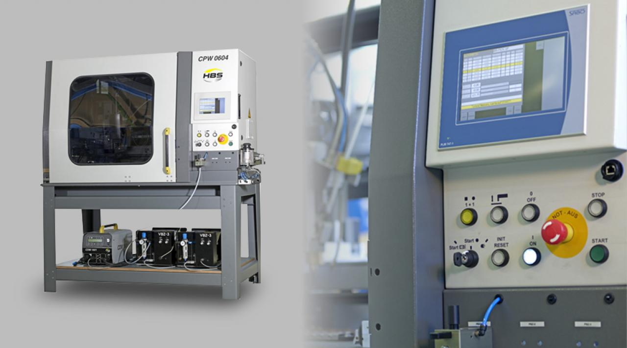 New entry-level CNC stud welding machine HBS CPW